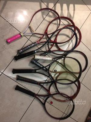 Stock racchette tennis