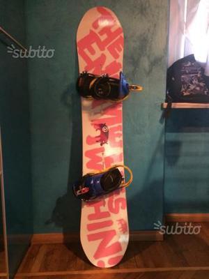 Tavola snowboard BURTON UN.INC 153 + Attacchi