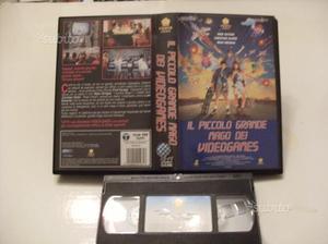 VHS IL PICCOLO GRANDE MAGO DEI VIDEOGAMES-usata