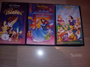 Vhs walt disney originali
