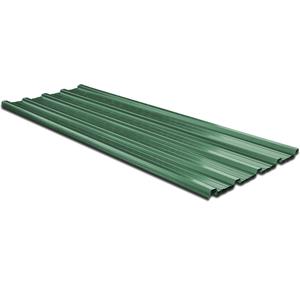 vidaXL Pannello da Tetto 12 Pz Acciaio Zincato Verde