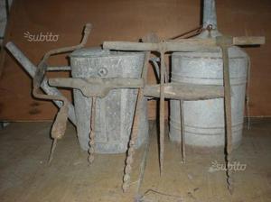 Attrezzi da falegname antichi taniche
