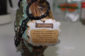 """Bottiglia Artistica in Ceramica Vintage Anni """"70"""
