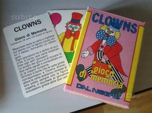 Carte da gioco Clowns, vintage