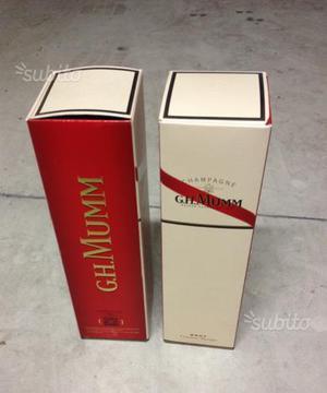 Champagne G.H. Mumm brut 2 bottiglie