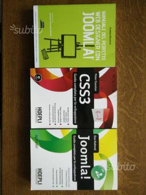 Libri su Joomla e CSS3