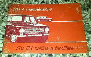 Manuale Uso e Manutenzione Fiat 124