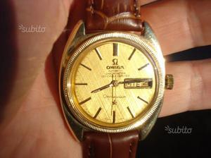 Orologio automatico omega pl oro data collezione