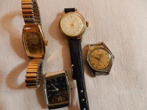 Quattro orologi da polso donna vintage