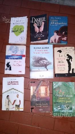 Romanzi nuovi recenti vari autori