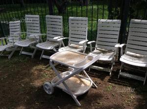 Carrello Da Giardino Usato : Sdraio da giardino rovergarden sedie giardino rovergarden in