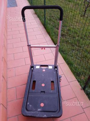 Carrello robusto pacchi posot class for Porta pieghevole