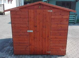 Casetta in di legno da giardino 2x2 posot class for Casetta giardino usata