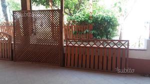 Grigliato in legno 180x180