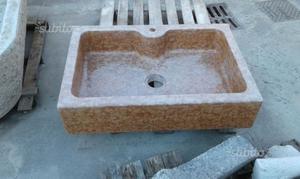 Lavabo in marmo vasca singola