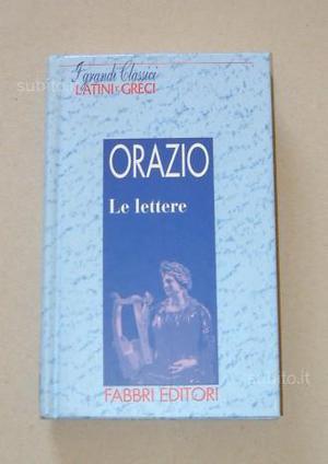 ORAZIO - Le lettere
