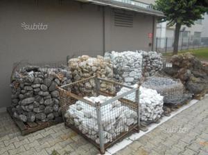 Ciottoli per decorazione giardino e anfore posot class for Ciottoli bianchi giardino prezzo