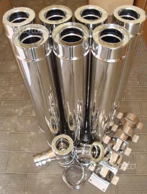Raccordi tubi curve adattatori riduzioni posot class - Canna fumaria per stufa a pellet ...