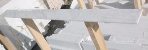 Zoccolino in marmo Bianco Carrara