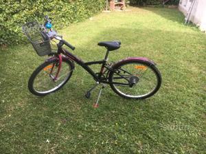 Bici bambina 24 decatlon acquistata