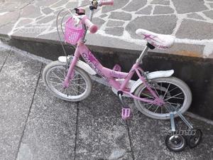 Bicicletta bambina 3/6 anni