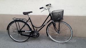 Bicicletta uomo donna con freni a bacchetta BIANCH