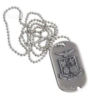 Collana Metallo Stemma Aeronautica Militare