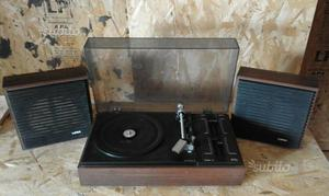 Giradischi stereo automatico - Mod. LESA SC