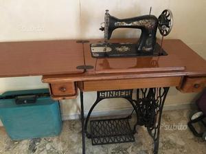 Antica macchina da cucire stoewer mobile liquori posot class for Macchina per cucire elettrica