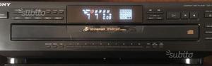 Sony cdp c661 lettore per 5 cd