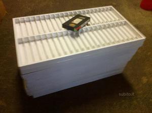 10 contenitori per videocassette vhs