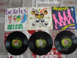 BEATLES a 45 giri dischi vinile vari