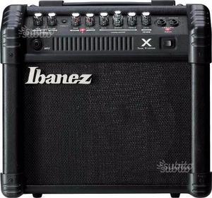 Chitarra elettrica Ibanez Amplificatore Ibanez