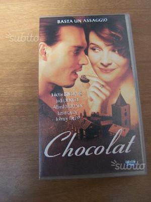 Chocolat cassetta VHS