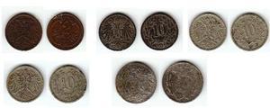 Collezione di monete dell'austria