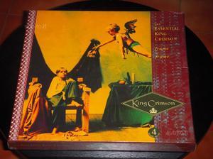 King Crimson Frame by Frame box 4 cd