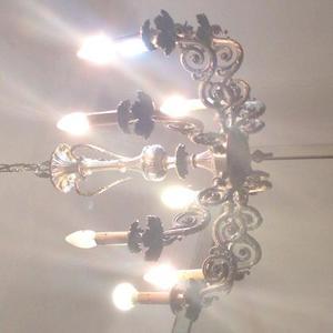 LAMPADARI coppia in ferro