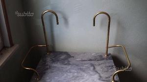 Lavabo marmo grigio