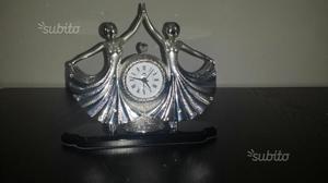 Scultura ottaviani in argento posot class - Ottaviani orologio da tavolo ...