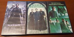 Trilogia Completa Matrix VHS - Videocassetta