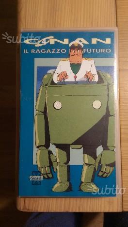 VHS Conan Il Ragazzo del Futuro n.3 e n.4