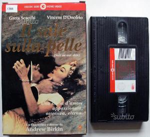 VHS - IL SALE SULLA PELLE =C.GORI==Ex noleggio