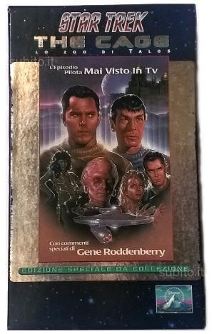 Videocassetta VHS Star Trek