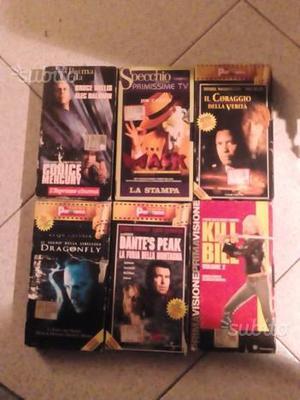 Videocassette originali vhs