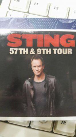 biglietto Sting 28 luglio  Mantova