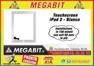 Touchscreen iPad 2 Bianco Alta Qualità