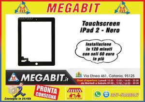Touchscreen iPad 2 Nero Alta Qualità