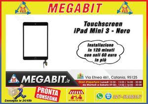 Touchscreen iPad Mini 3 Nero Alta Qualità