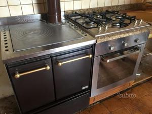 Cucina mobile angoliera stufa forno piano cottura posot class - Forno e piano cottura ...