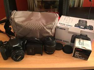 Fotocamera Reflex EOS Canon 600d